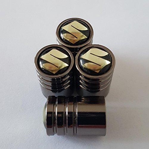 suzuki-schwarz-top-titan-grau-deluxe-kfz-reifen-staub-ventilkappen-set-von-vier-box-alle-modelle-jim
