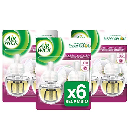 Air Wick, Esencia para el hogar (Lirio de Luna) - 6 de 19 ml (Total 114 ml.)