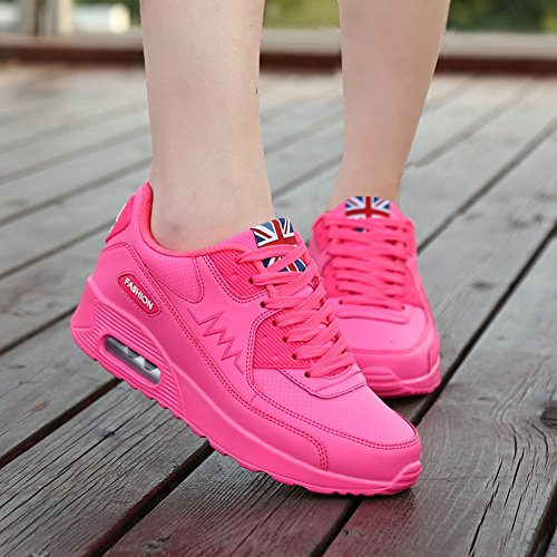 Wealsex Sportschuhe damen Schuhe Freizeit Sneaker Rosa P