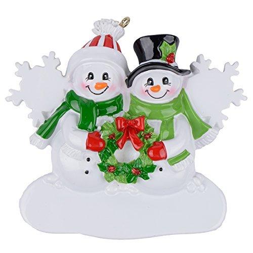ersonalisierte Ornament, Polyresin, mehrfarbig, Family of 2 ()