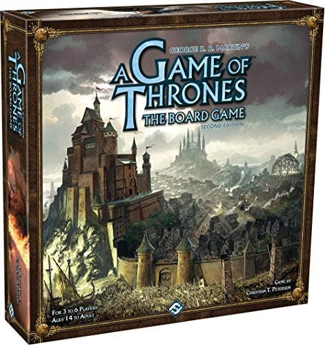 Fantasy Flight Games A Game of Thrones the Board Game: 2nd Edition (Fantasy Flight Game Of Thrones)