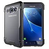 TECHGEAR® Samsung Galaxy J5 2016 (SM-J510 Series) [FUSION ARMOUR] Premium Slim Hybrid Protective Bumper Case (Frost/Black)