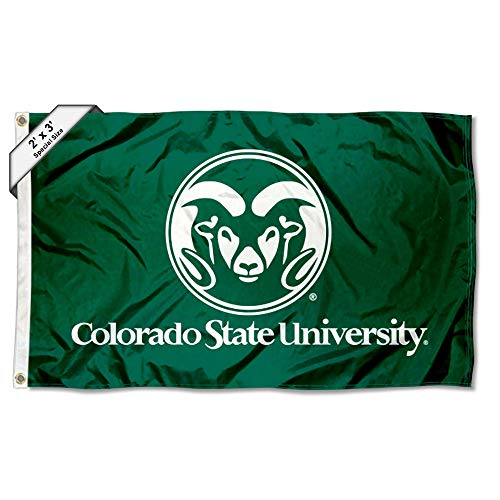 College Flags and Banners Co. Colorado State Rams Flagge, 2 x 91 cm - Colorado State University