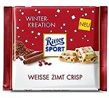 Ritter Sport Weisse Zimt Crisp, 12er Pack (12 x 100 g)