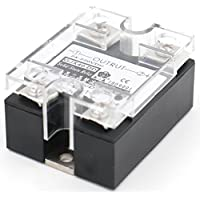 Heschen Single Phase DC Solid State Relay ssr-40dd 3–32 VDC/24–220 VDC 40A