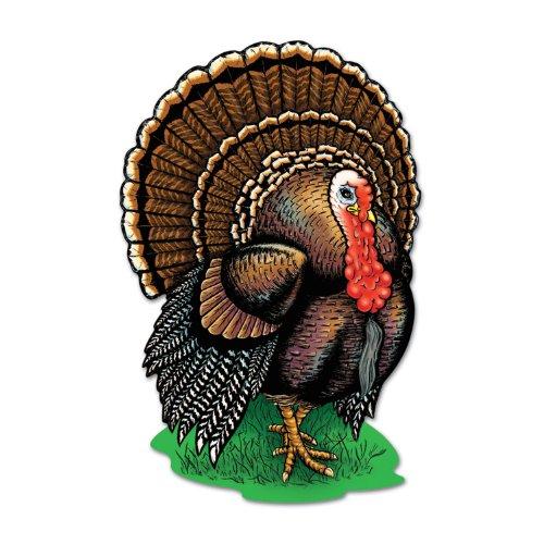Beistle 99990Türkei Aussparungen, 43,2cm 24Aussparungen Pro Paket (Türkei Thanksgiving Ausschnitte)