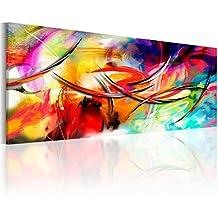 murando - Cuadro en Lienzo 135x45 cm - Abstraccion - Impresion en calidad fotografica - Cuadro en lienzo - una pieza a-A-0001-b-b