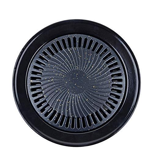 arbecue Körbe BBQ Gemüseben-Pan Round Baking Basket-Portable Aluminum Barbecue Accessoires für Grillen Fisch Fleisch Hühner ()