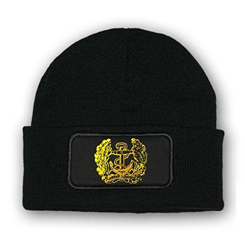 Mütze / Beenie - deutsche Marine Bundesmarine Anker Abzeichen Emblem #9200 m