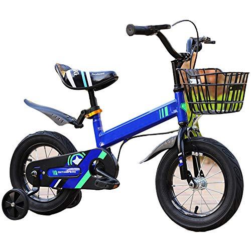 """YUMEIGE Kinderfahrräder 12\""""14\"""" 16\""""18\"""" Kinderfahrrad für 2-9 Jahre Mädchen 33-59 Zoll groß, Mädchen Fahrrad mit Stützrädern Kinder Radfahren mit Sicherheitsbremse ausgestattet"""