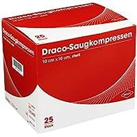 SAUGKOMPRESSEN 10x10 cm steril Draco 25 St Kompressen preisvergleich bei billige-tabletten.eu