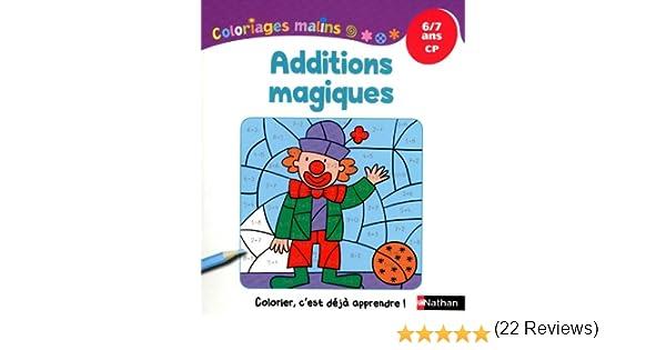 Coloriage Cp Octobre.Coloriages Malins Additions Magiques Cp Amazon Fr Isabelle Petit