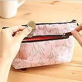 LJSLYJ Kosmetiktasche Mäppchen Beutel Zipper Kulturbeutel Clutch Make up Bag (Rosa)