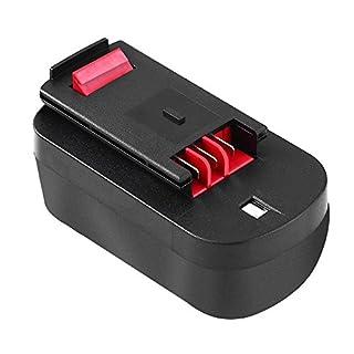 Reoben High Capacity 18V 3.0Ah NI-MH Battery Replace for Black&Decker 18 Volt HPB18 HPB18-OPE 244760-00 A1718 A18 FSB18 FEB180S