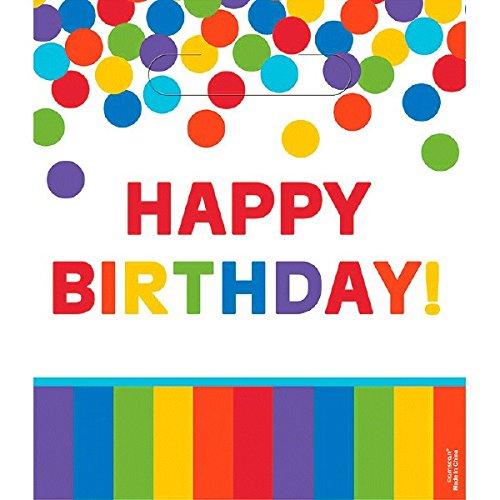ry Regenbogen Happy Birthday Geschenktüten ()
