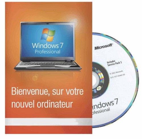Windows 7 Professionnel 32 Bits - FRANCAISE - MAR