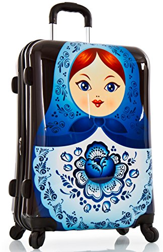 ... 50% SALE ... PREMIUM DESIGNER Hartschalen Koffer - Heys Core Dolls Russian Dolls - Trolley mit 4 Rollen Medium Russian Dolls