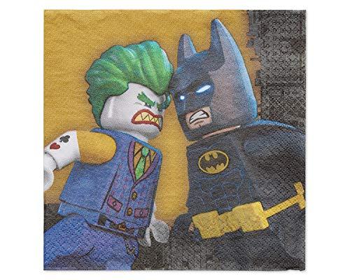 Amscan International DC Comics Lego Batman Servietten, 33cm -