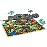 Toys Bhoomi Prehistoric Dinosaur Playset With Play Mat