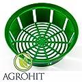Pflanzschale 10x für Blumenzwiebeln Zwiebeln Pflanzkorb Schale 25cm/23cm 10 Stueck von biowin auf Du und dein Garten