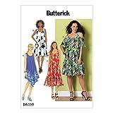 Butterick Patterns 6350ZZ Schnittmuster Kleid, Größen groß–2x Große