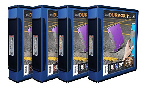 STOREX DURAGRIP 1Binder Case of 4 blau (1 Staples 3-ring Binder)
