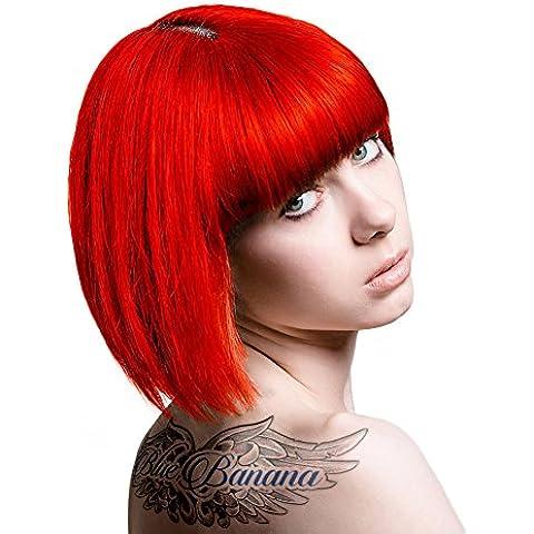 Neon Semi Permanent Hair Dye - UV Red by Stargazer
