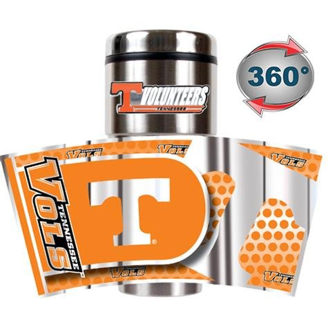 Great American NCAA Tennessee Freiwilligen Metallic Travel Tumbler Great American Products Tumbler