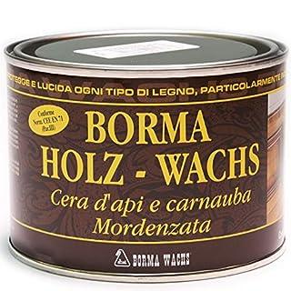 500ml Holzwachs EN-71/3 Zertifiziert (14 - Antik braun)