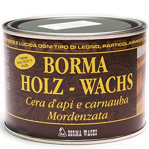 500ml Holzwachs EN-71/3 Zertifiziert (63 - nussbaum dunkel)