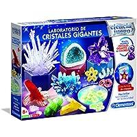 Ciencia y Juego - Laboratorio de Cristales Gigantes (Clementoni 55322)