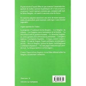 Contra l'Imperialisme lingüístic (Obertures)