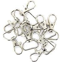 VORCOOL 360 Grad drehbar Trigger Snap Hooks - 30 Stück (Silber)