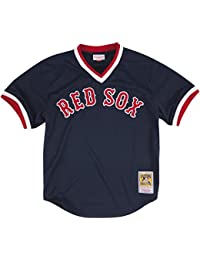Ted Williams Boston Red Sox Mitchell & Ness Authentic 1990 BP Maillot