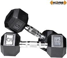 KORE DM-HEXA-COMBO16 Dumbbells Kits
