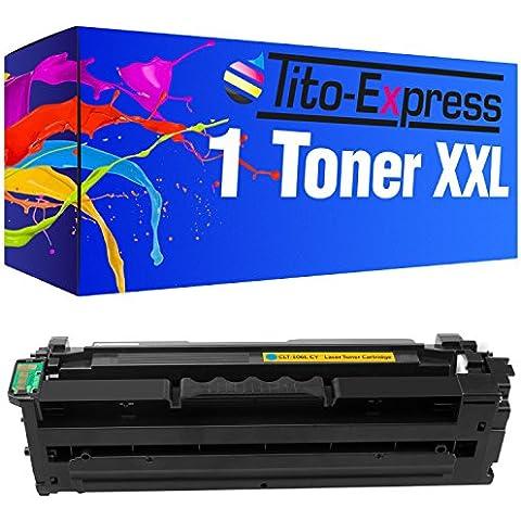 PlatinumSerie® 1 Toner compatibile con Samsung CLT-C506L Cyan Premium Line CLP-680 ND CLP-680 DW CLX-6260 FD CLX-6260 FR CLX-6260 FW CLX-6260 ND