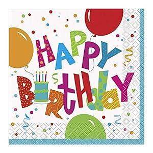 Ênicos fiesta de cumpleaños del Jamboree de papel Servilletas (paquete de 16)
