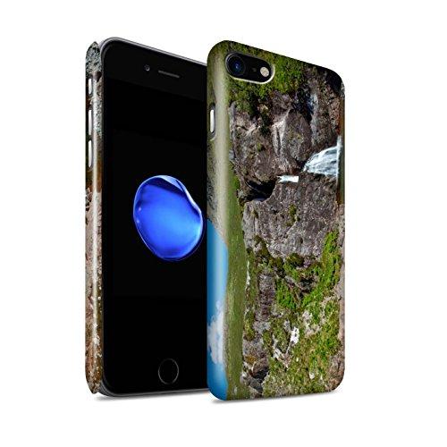 STUFF4 Glanz Snap-On Hülle / Case für Apple iPhone 8 / Pack 14pcs / Schottisch Landschaft Kollektion Ströme