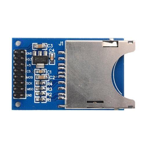 Preisvergleich Produktbild SunFounder SD Card Module Slot Socket Reader for Arudino UNO R3 Mega 2560 Nano