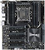 Asus X99-E WS/USB 3.1 2 x USB 3.1 Gen 2 8 Motherboard - Black