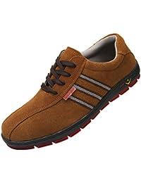 D DOLITY Zapatos de Seguridad Puntera de Acero con Aislamiento Lubricante Anti-retráctil Zapatos de Seguridad Comodidad Transpirable - eu 40 us 6.5 uk 6