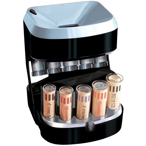 Accuwrapper Motorized Coin Sorter with 100 Bonus Wrappers Included by...