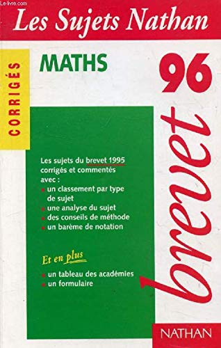 Brevet 95-96 maths corr