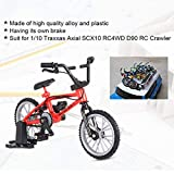 TianranRT Dekor Mini Berg Fahrrad Modell Spielzeug für 1/10 Traxxas Axial Tamiya RC Crawler