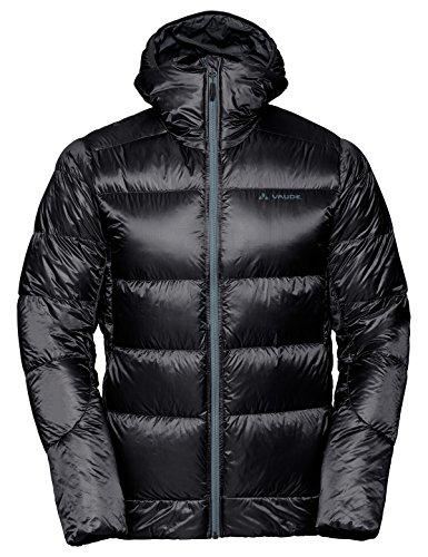 VAUDE Men' s kabru Hooded Jacket III Giacca Doudoune in Piumino Naturale per Gli Sport di Montagna Uomo, Uomo, 41199, Nero, FR : XL (Taille Fabricant : XL)
