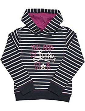 SALT AND PEPPER Mädchen Sweatshirt Sweat Fabulous Stripe Kap