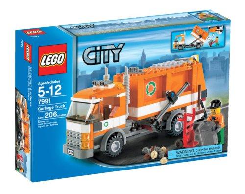 Preisvergleich Produktbild LEGO City Garbage Truck - 7991 by LEGO