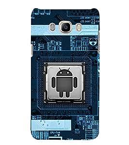 FUSON Modern Science Computer Technology 3D Hard Polycarbonate Designer Back Case Cover for Samsung Galaxy J5 (6) 2016 :: Samsung Galaxy J5 2016 J510F :: Samsung Galaxy J5 2016 J510Fn J510G J510Y J510M :: Samsung Galaxy J5 Duos 2016