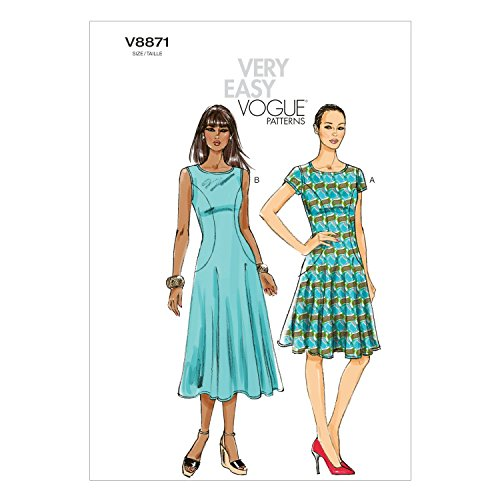 4e2905915 Vogue Patterns Jeune femme   robe - 8-10 - 12-14 - 16
