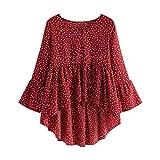 Magliette da Donna, Camicia, Casual Bluse, T-Shirt a Manica Lunga, Felpe, Top per Primavera, Taglie Forti, Modaworld